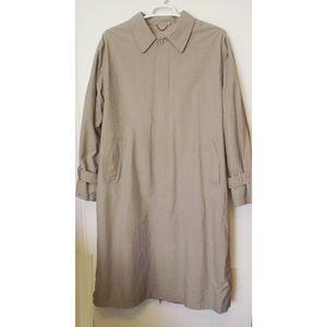 Travelsmith Full Length Mens XL Classic Rain Coat